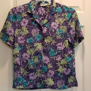 Alfred Dunner | Button Down Shirt | Size 6P